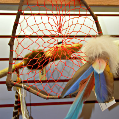 Red Hawk ranch handmade dream catcher Florida