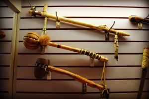 Red Hawk Ranch Native American weapons